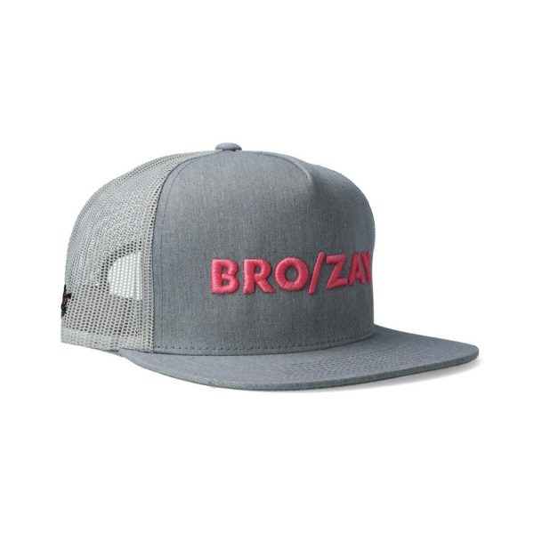 Spider Pig Snapback in BRO/ZAY - Front Side